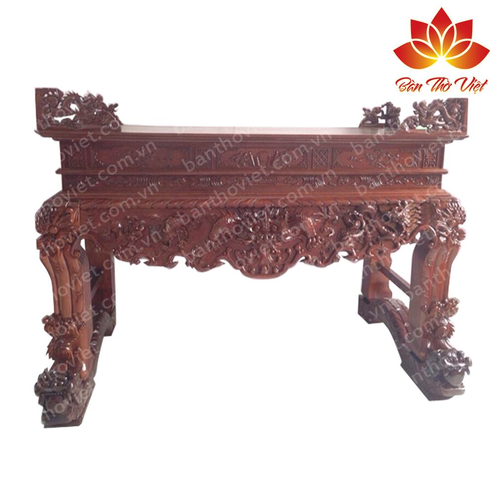 Mẫu sập thờ gỗ gụ đẹp được thiết kế chuẩn thước Lỗ Ban