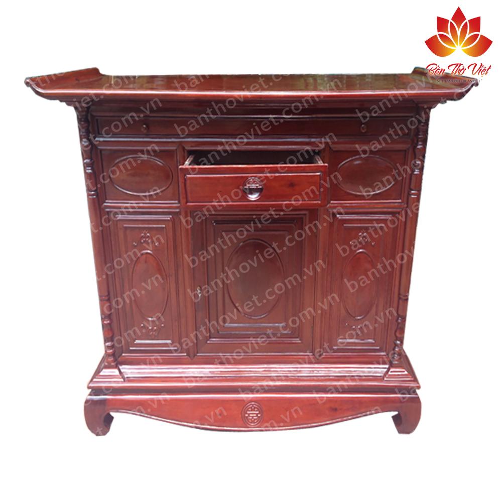Mẫu tủ thờ ở Hà Nội do Gỗ Hoàng Gia cung cấp