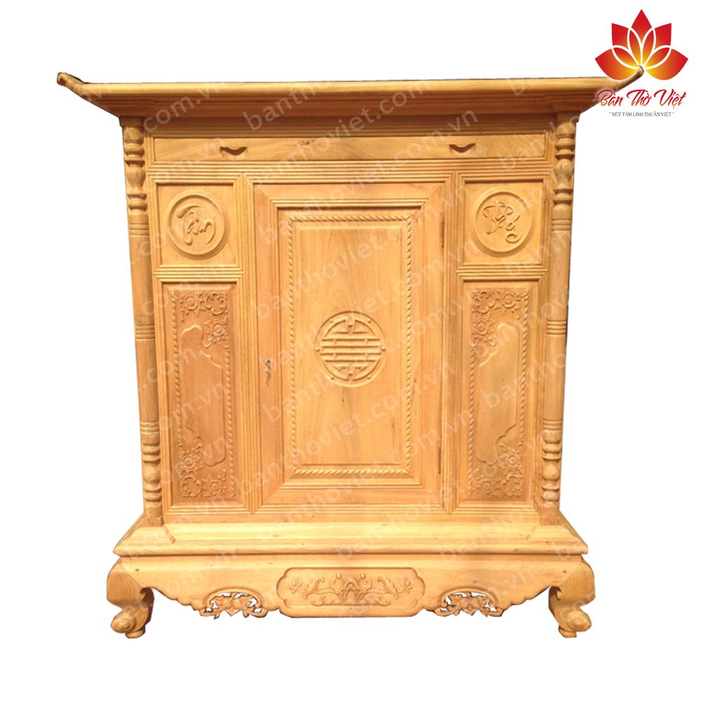 Các mẫu tủ thờ gỗ gụ ĐẸP và SANG TRỌNG cho không gian thờ cúng