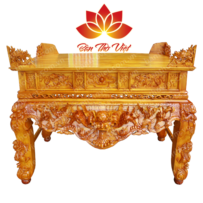 Nguyên liệu gỗ làm bàn thờ phải mới