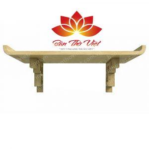 Nên chọn bàn thờ treo tường gỗ Hương hay gỗ Mít cho không gian thờ cúng?