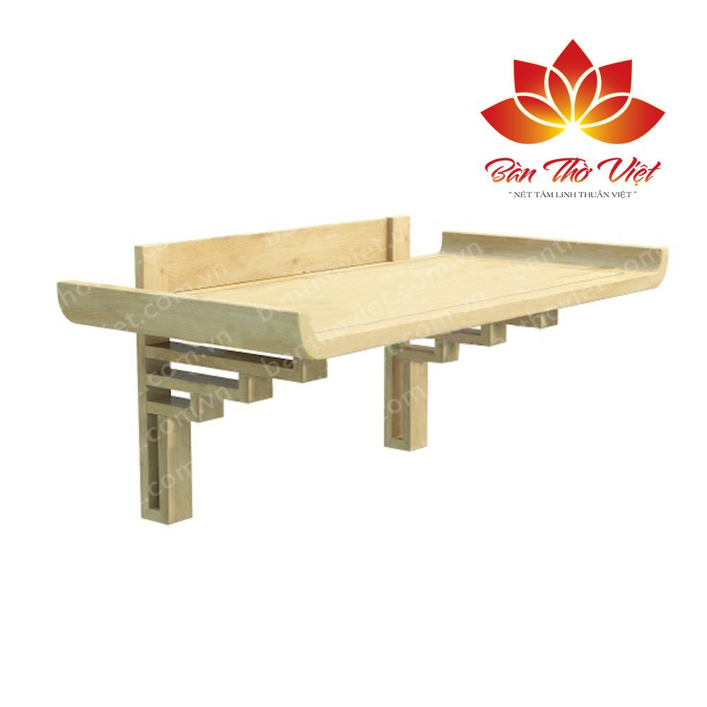Bàn thờ treo tường gỗ Pơ mu giá bao nhiêu tiền và bán ở đâu?