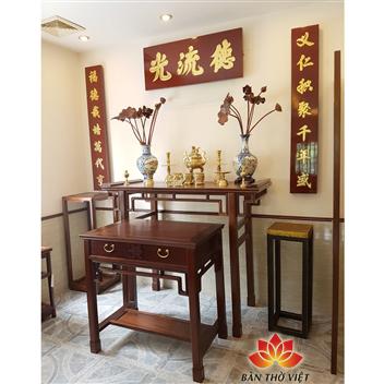 Cách lựa chọn và bày trí tủ thờ gỗ Mít chuẩn giúp mang lại may mắn tài lộc