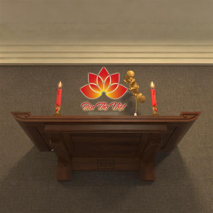 mẫu bàn thờ treo tường hiện đại thiết kế nhỏ gọn