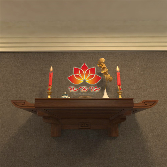 Bàn thờ treo cao bao nhiêu là đẹp - Lời khuyên từ chuyên gia phong thủy