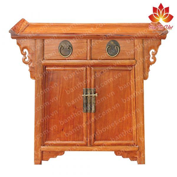 Một số mẫu tủ thờ cao cấp từ chất liệu gỗ mít hiện nay