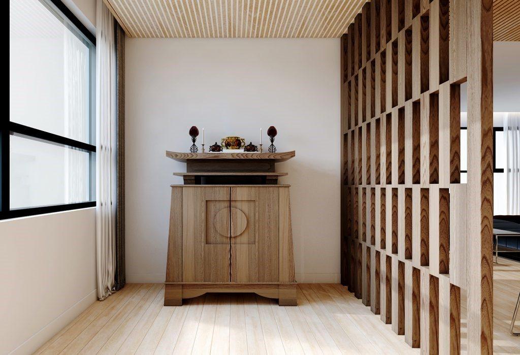 Tủ thờ phong thủy không được đặt cạnh nhà vệ sinh