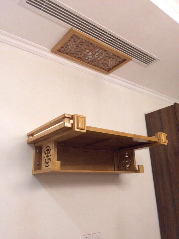 Những mẫu bàn thờ treo tường loại to thiết kế hiện đại đẹp nhất