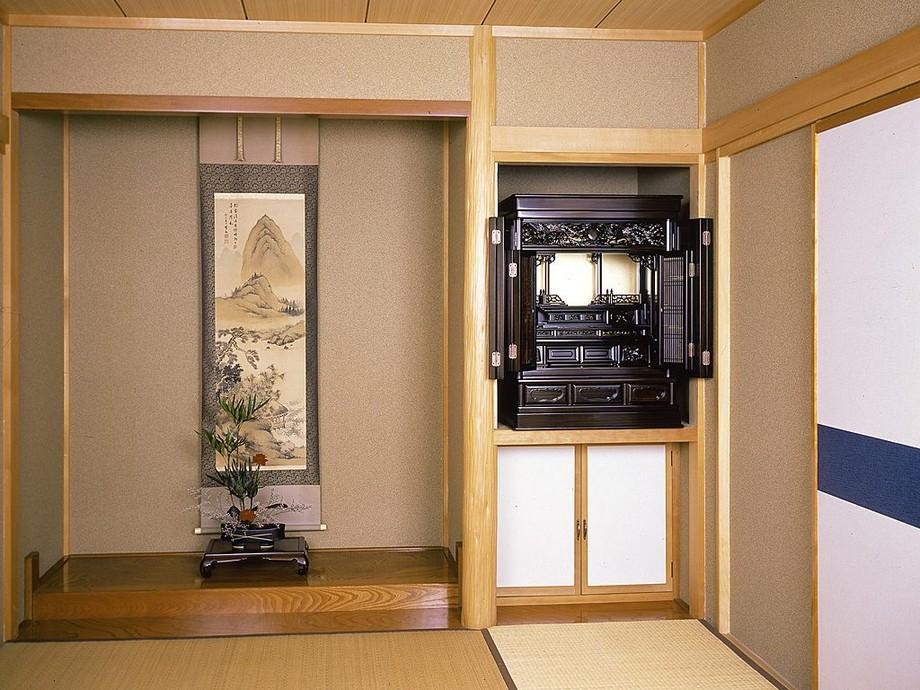 Một số mẫu thiết kế bàn thờ âm tường cho không gian nhà đẹp ấn tượng