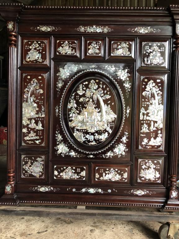 Một số mẫu tủ thờ khảm trai đẹp ghi dấu thời gian