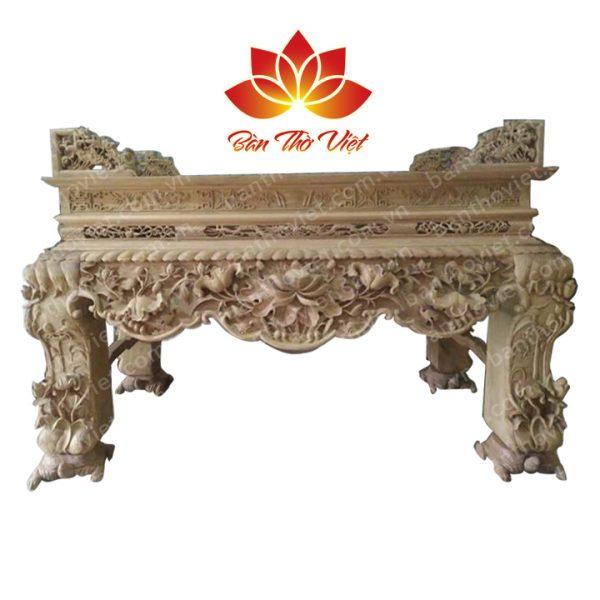 Sập thờ chân rùa Tứ Linh , Ngũ Phúc đẹp Chuẩn phong thủy