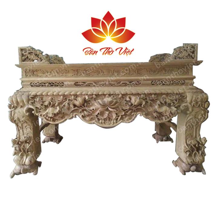 Bàn thờ dùng bằng gỗ gì bền và tốt nhất phù hợp phong thủy