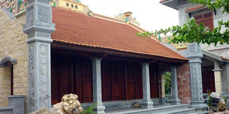 Tổng hợp các mẫu nhà thờ họ bằng gỗ đẹp chuẩn phong thủy
