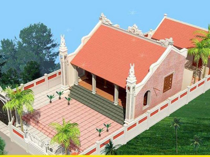 Mẫu thiết kế nhà thờ có hậu cung thịnh hành nhất hiện nay