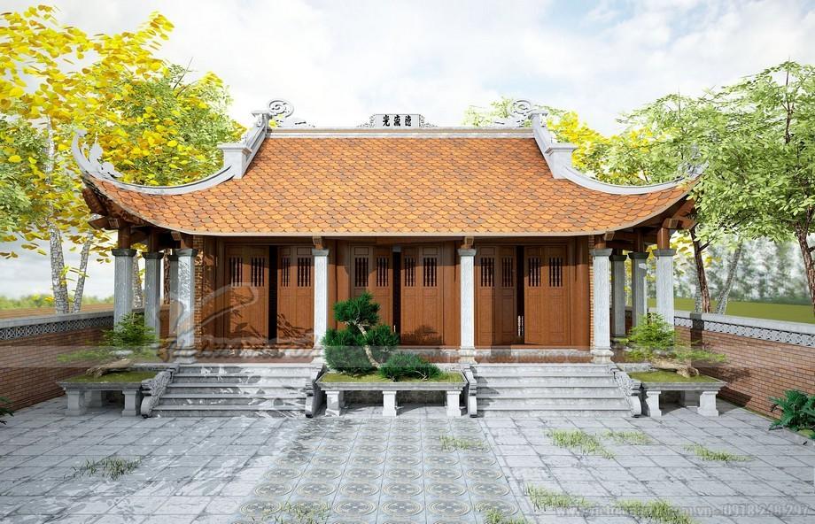 Các mẫu nhà thờ họ mái cong đẹp và độc đáo nhất Việt Nam