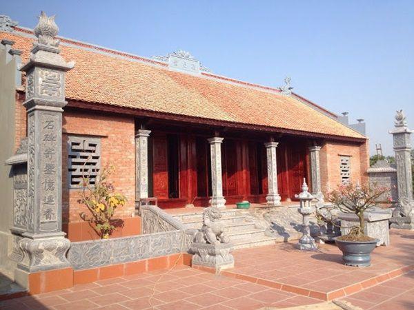 Thiết kế nhà thờ họ 5 gian độc đáo và đậm chất Việt Nam